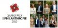Grand Prix de la Philanthropie : découvrez les lauréats 2020