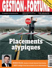 A LA UNE : Placements atypiques, l'AMF dit stop