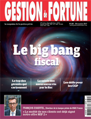 A LA UNE : Le big bang fiscal 2018