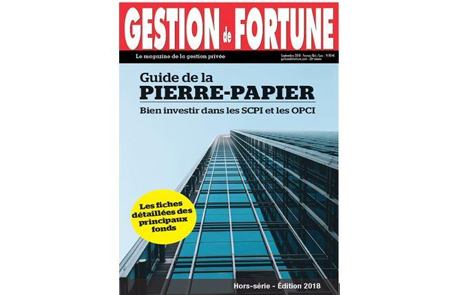 Parution du Guide 2018 de la Pierre-Papier : bien investir dans les SCPI et les OPCI