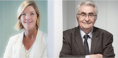 Catherine Orlhac succède à Jean Aulagnier à la présidence de l'Aurep