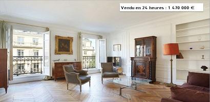L'immobilier de luxe parisien au sommet (groupe Féau)