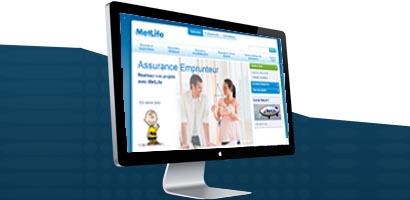 Le site de MetLife France fait peau neuve