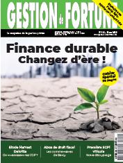 DOSSIER : Finance durable, comment changer d'ère !