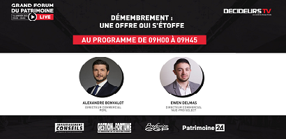 [Replay] Grand Forum Live - Démembrement : une offre qui s'étoffe