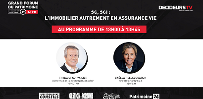 [Replay] Grand Forum Live - SC, SCI : l'immobilier autrement en assurance vie