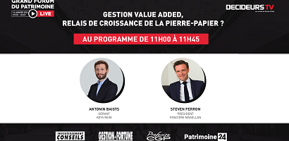 [Replay] Grand Forum Live - Gestion Value Added, relais de croissance de la pierre-papier ?